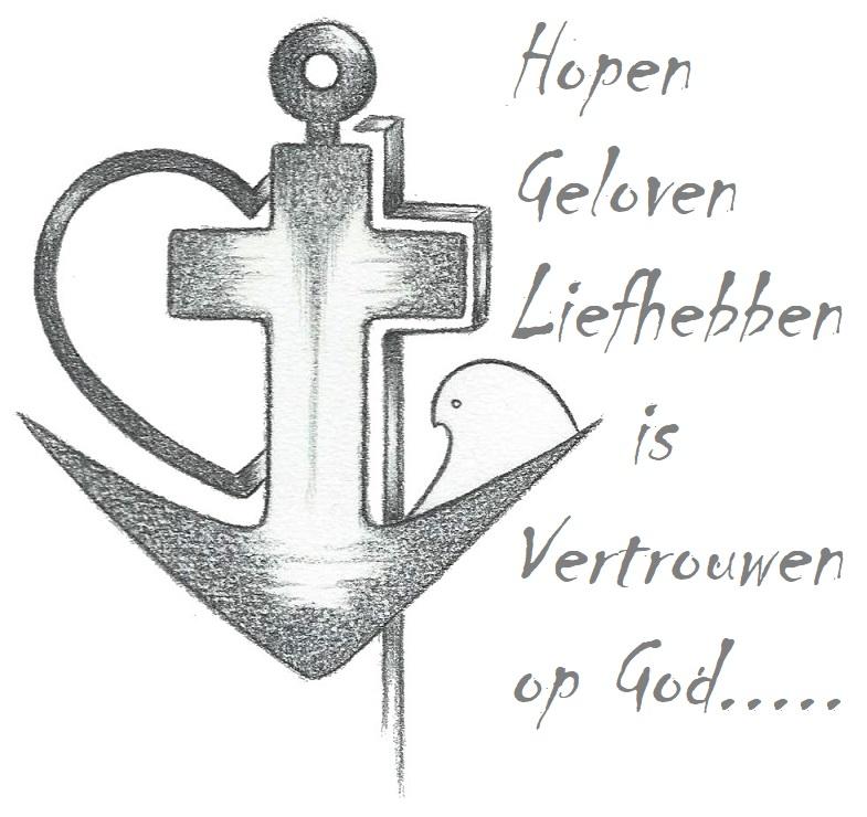 Geloofhoop En Liefde Mensbootje